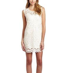 🌷 BCBG Max Azria Beto Lace Crochet Dress